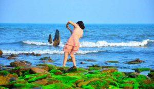 Bãi Biển Hoành Sơn hoang sơ mà hùng vĩ