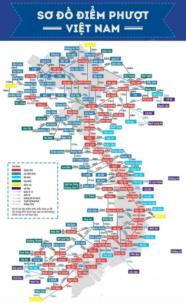 bản đồ du lịch