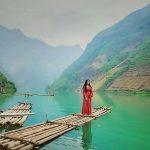 Sông Nho Quế là thiên đường chụp ảnh đẹp để sống ảo của khách du lịch