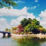 Chùa Non Nước ở Ninh Bình không chỉ cầu khấn mà còn chụp hình đẹp