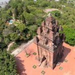 Tháp Nhạn là điểm tham quan di tích văn hóa của Tuy Hòa Phú Yên