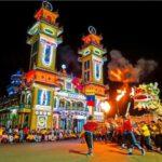 Tòa Thánh Tây Ninh là điểm tham quan văn hóa đạo Cao Đài