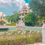 Chùa Bửu Long là nơi làm sống dậy phong chào chụp hình ở Sài Gòn