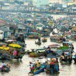 Chợ nổi Cà Mau là niềm tự hào cho ngành du lịch miền tây