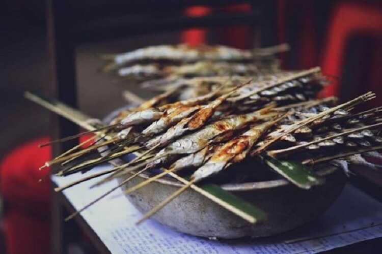 Cá nướng Pắc Ngòi