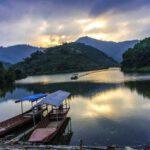 Hồ Ly Phú Thọ là điểm chụp hình được gọi là tuyệt tình cốc Yên Lập