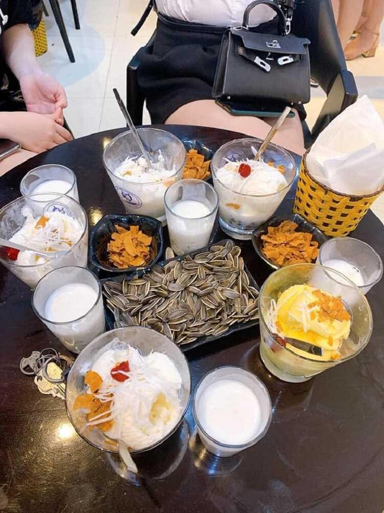 Sữa Chua Trân Châu Houjicha Quang Minh - Mê Linh