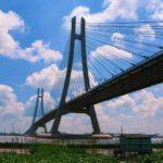 Cầu Vàm Cống là nơi chụp ảnh check in cực độc của Đồng Tháp