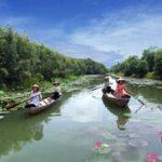 Láng Sen là khu bảo tồn thiên nhiên sinh thái ngập mặn của tỉnh Long An
