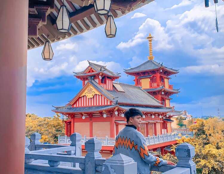chụp hình phong cách Nhật Bản
