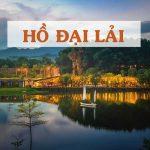 Hồ Đại Lải là điểm vui chơi cao cấp nhất của ngành du lịch Vĩnh Phúc