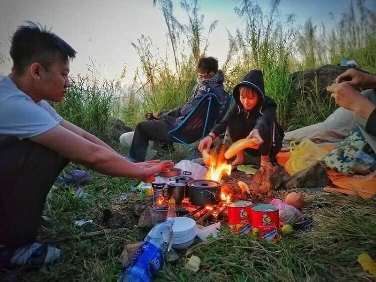 cắm trại pinic