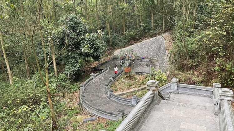 giếng ngọc tại đền thờ
