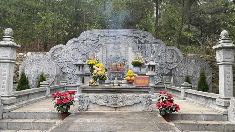lăng mộ chu văn an
