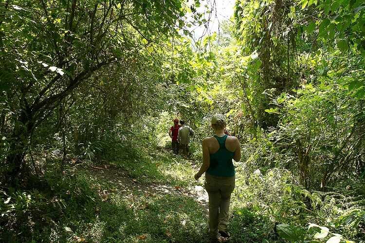 trekking vườn quốc gia ba bể