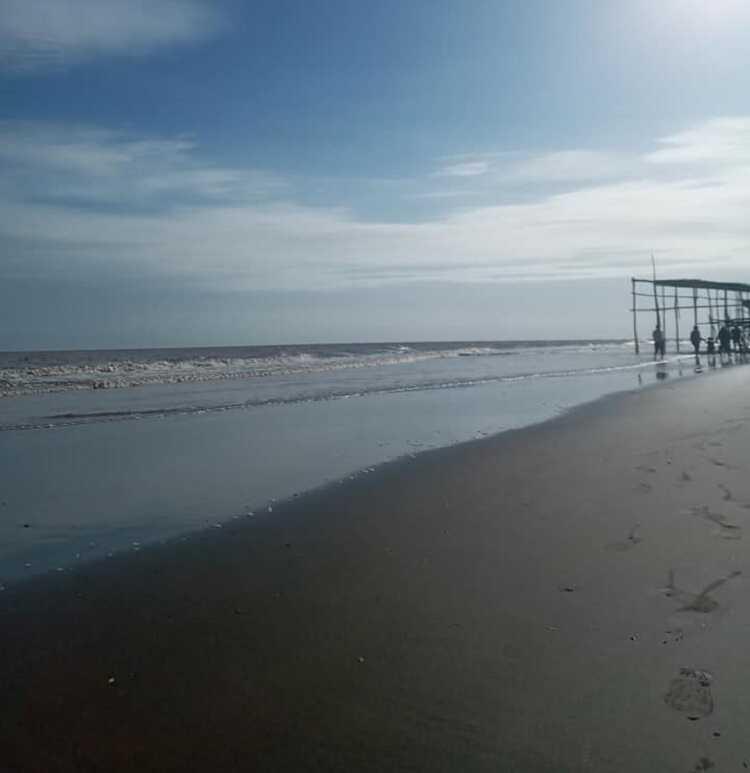 bãi cát cực mịn