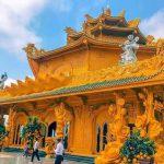 Chùa Phúc Lâm ở Hưng Yên nổi tiếng chụp ảnh đẹp sống ảo theo kiểu Thái