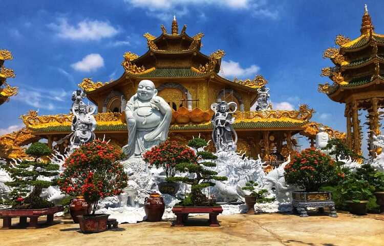 toàn cảnh chùa phúc lâm